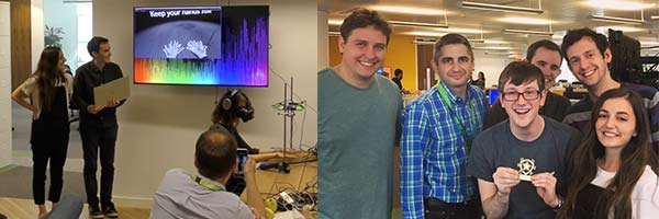 Haptics hackathon winners of best pitch