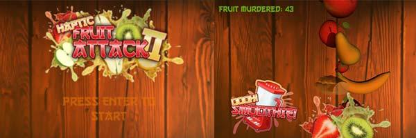 Haptics Fruit Attack hack
