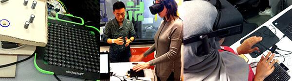 StudentHack V Manchester hackathon Ultrahptics technology