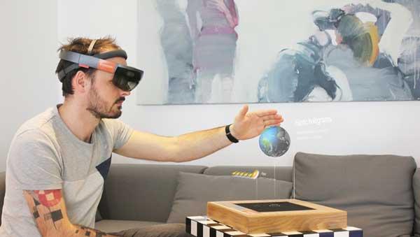 SIGGRAPH 2017 Immersion and Ultrahaptics haptics hologram