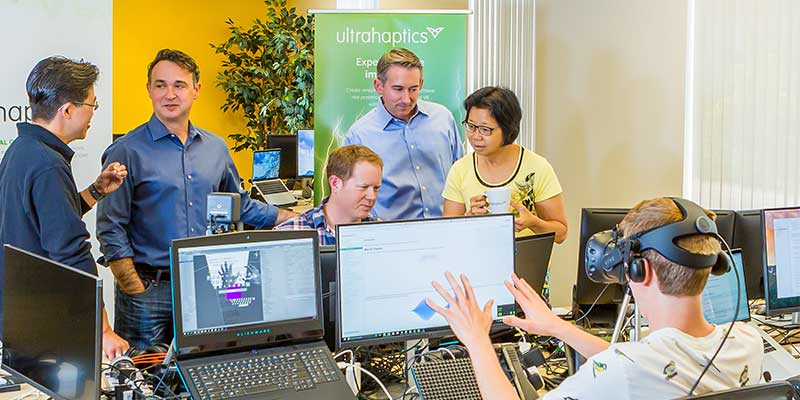 Ultrahaptics new Silicon Valley office in Palo Alto