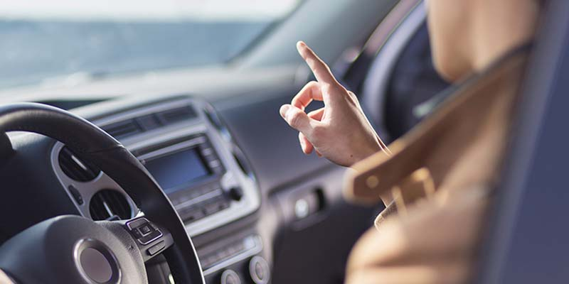 Touchless vehicle user interfaces