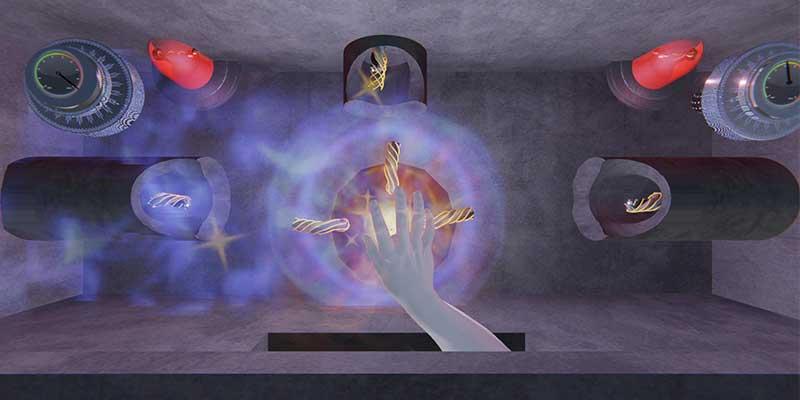 Magic Castle Halloween - ultrahaptics Energy Chamber