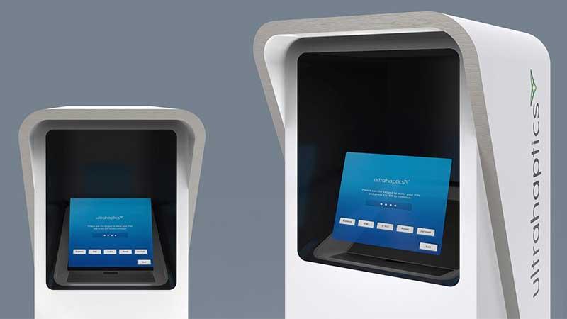 Haptic Hologram ATM - Ultrahaptics and Asukanet at CES 2018
