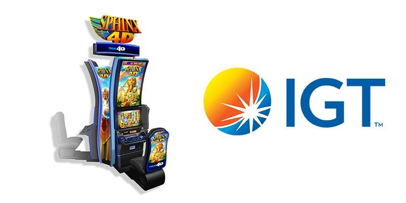 IGT SPHINX 4D™ slot machine game