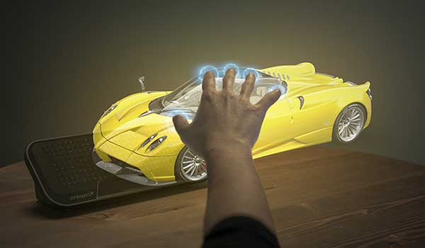 Haptic AR experience, with Meta, Ultrahaptics and ZeroLight,