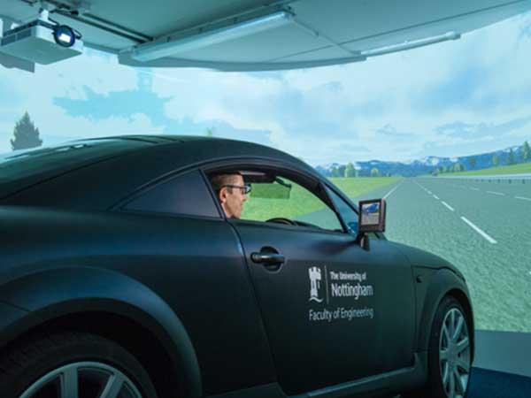 Audi TT driving simulator