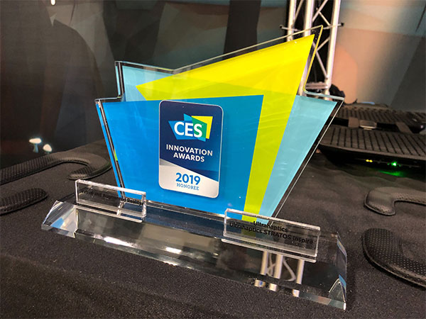 CES 2019 innovation award
