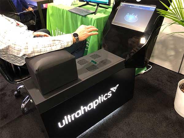 ultrahaptics automotive system