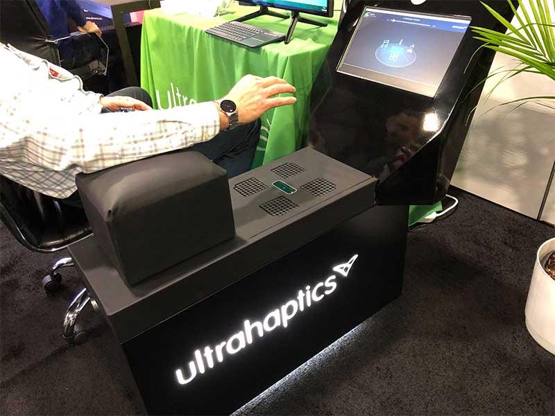 ultrahaptics automotive infotainment system.