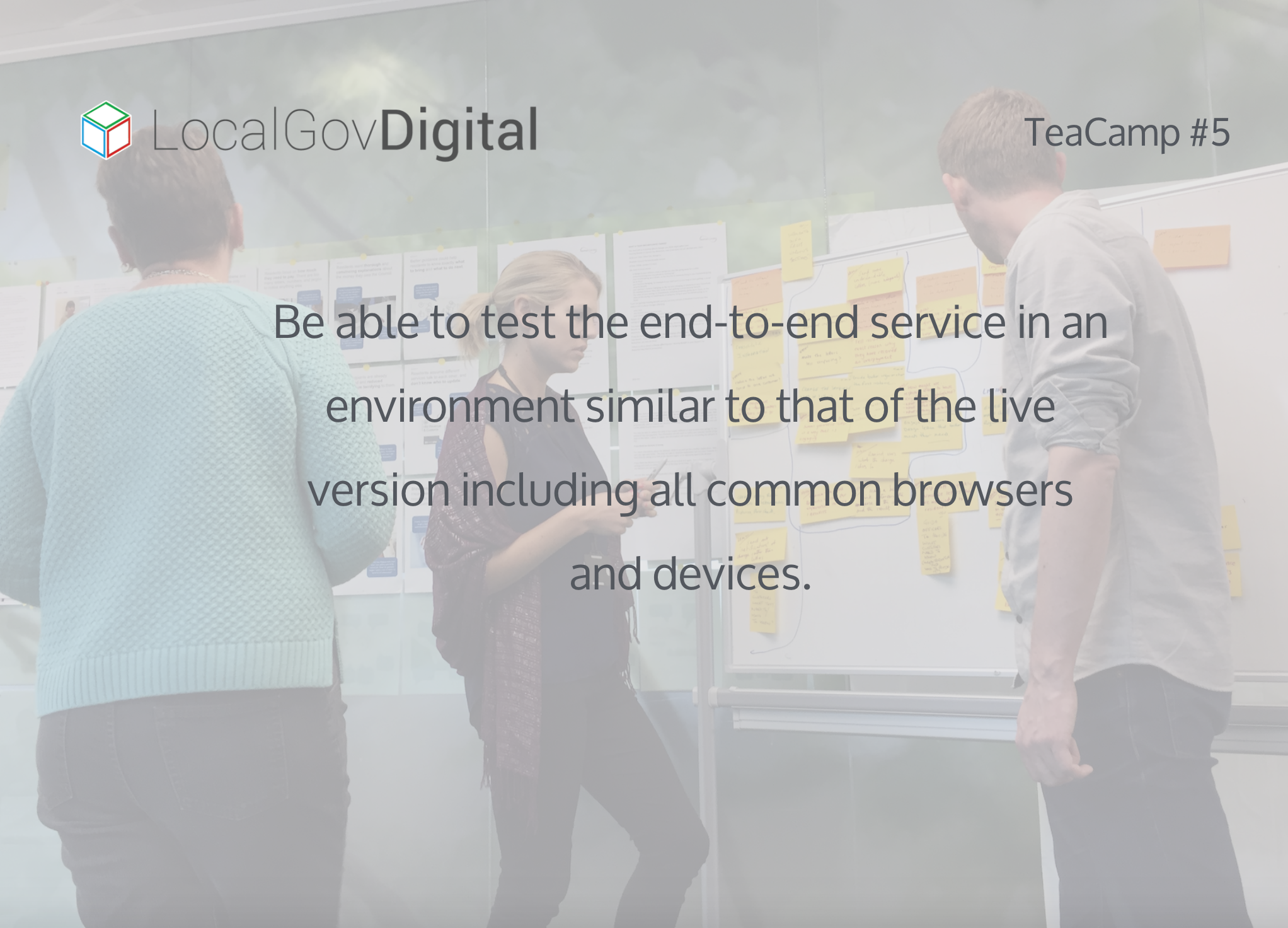 LocalGov Digital Service Standard Point 8