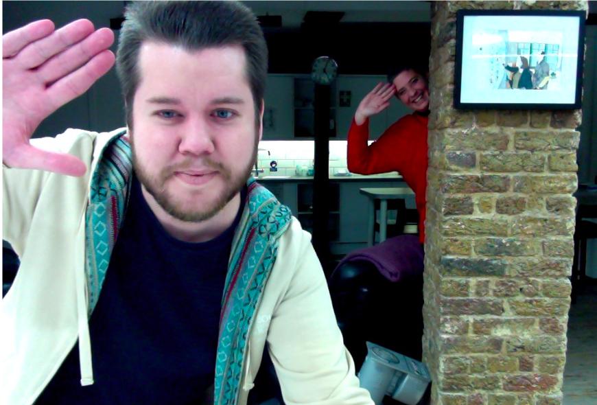 Graeme McCubbin in Unboxed office in London