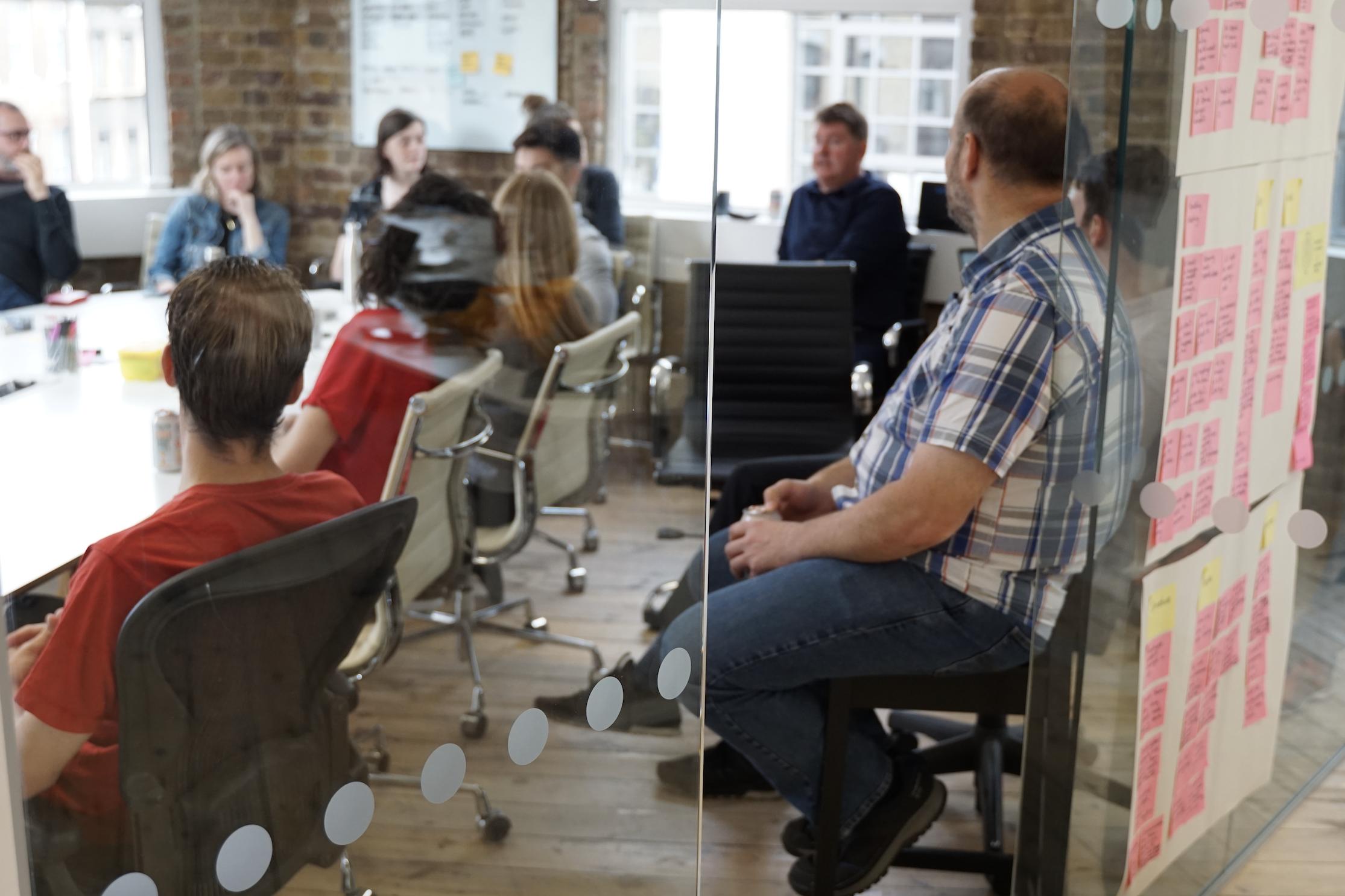 Company discussion