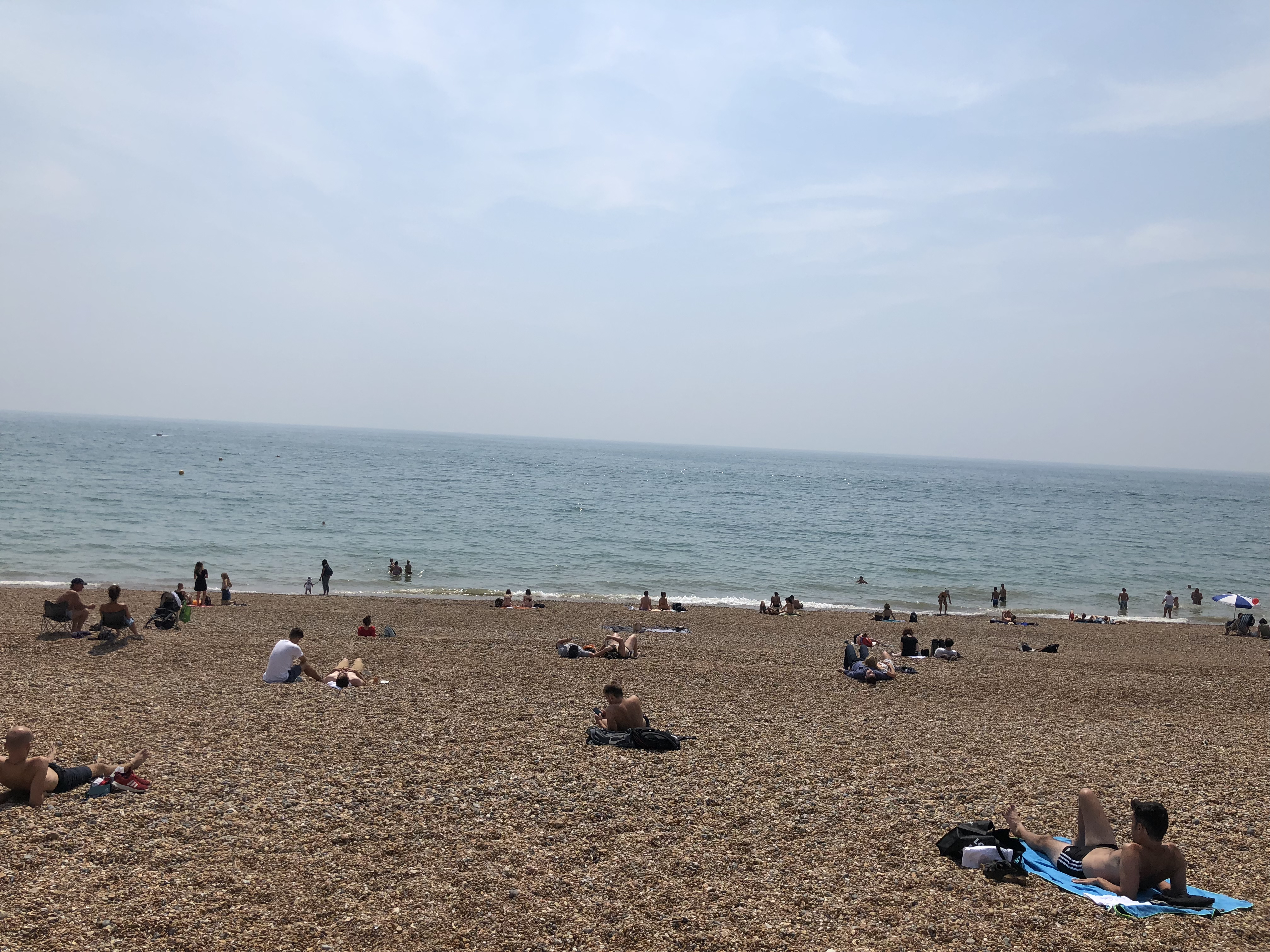 Brighton Ruby 2018 - The beach