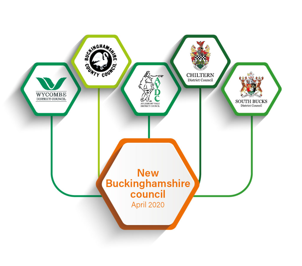 The new Buckinghamshire Council unitary authority