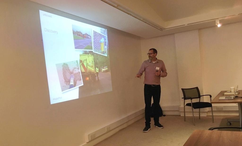 Pilot Agile project - Martyn Evans 2