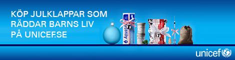 Köp julklappar i UNICEFs gåvoshop