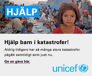 Hjälp barn i katastrofer