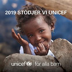 UpplandsSpar - Unicef Företagsbanner 2019