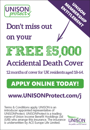 UNISONProtect insurance banner