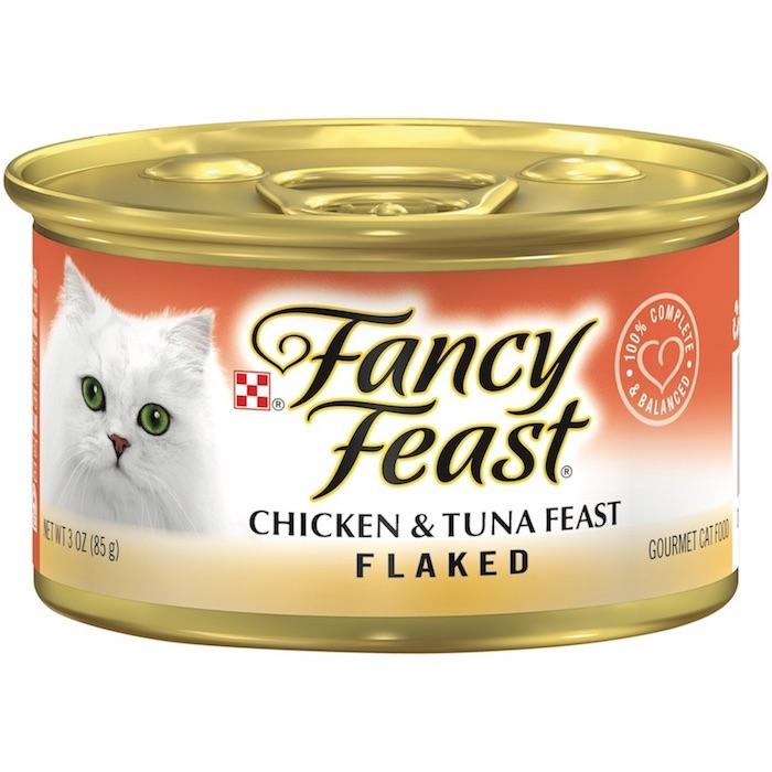 Purina Fancy Feast Flaked Chicken & Tuna Wet Cat Food 85g