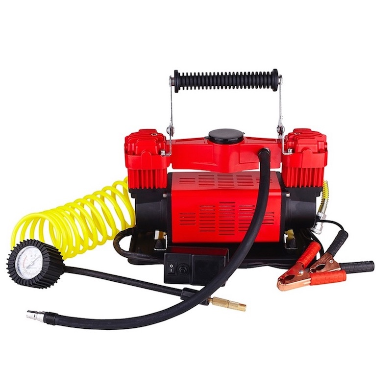 Vitaly Heavy Duty Double Cylinder Air Compressor / Tire Inflator