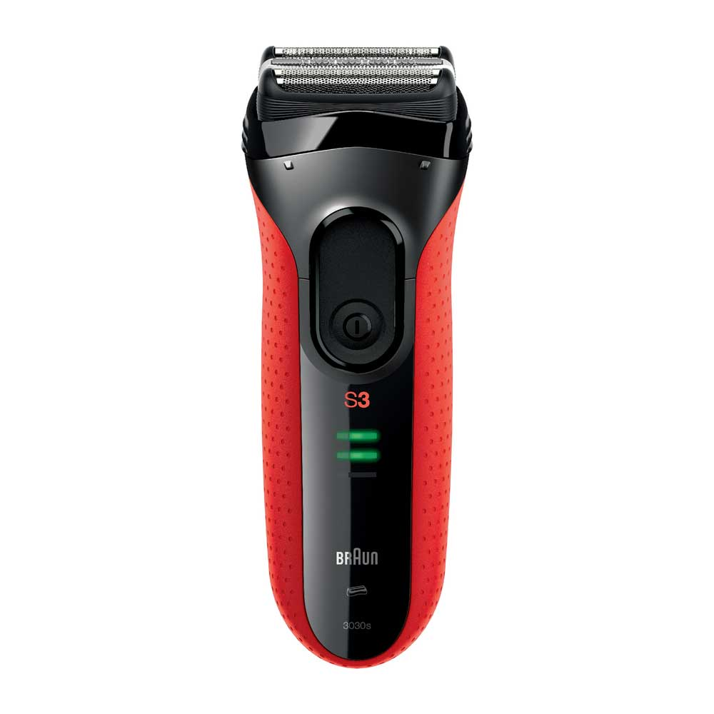 Braun Series 3 3030s Cordless Shaver with Long Hair Trimmer