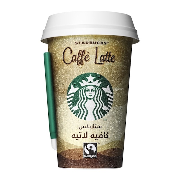 Starbucks Chilled Classics Caffe Latte Coffee Drink 220ml