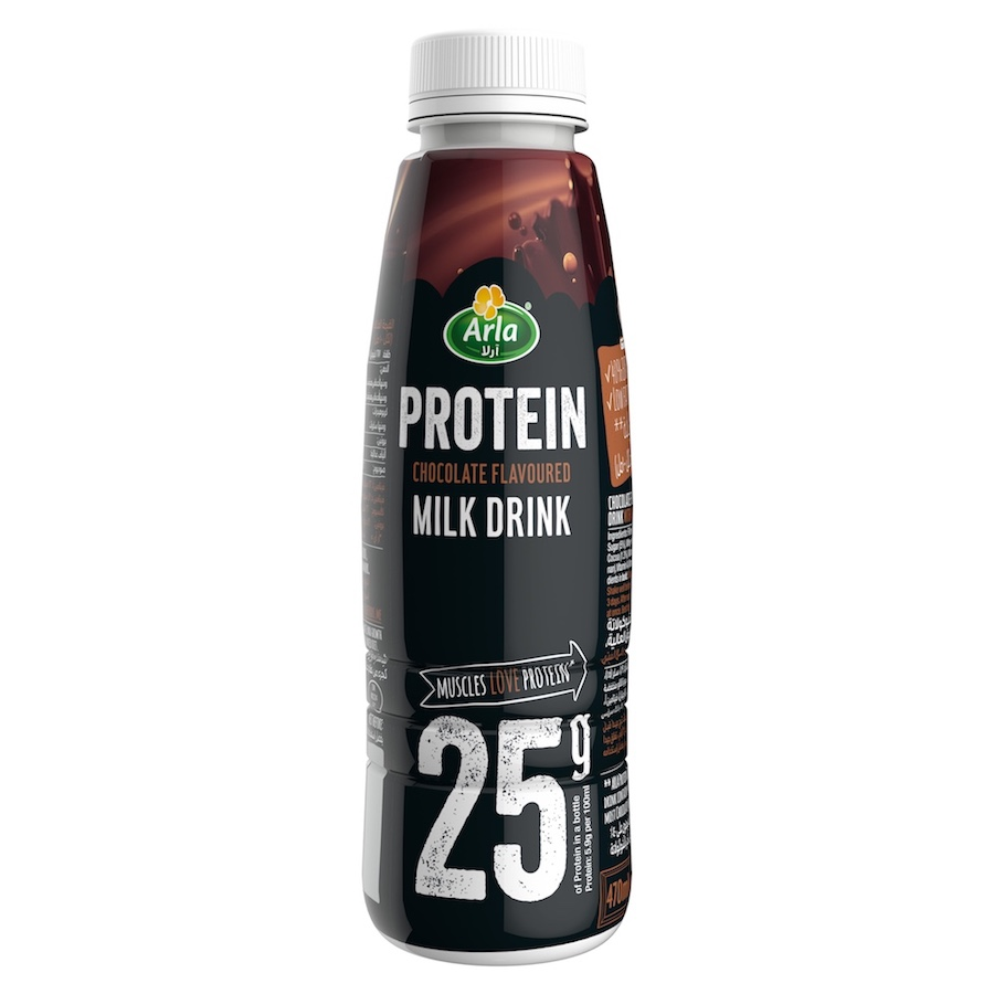Arla Protein Chocolate Flavoured Protein Milk Drink 470ml