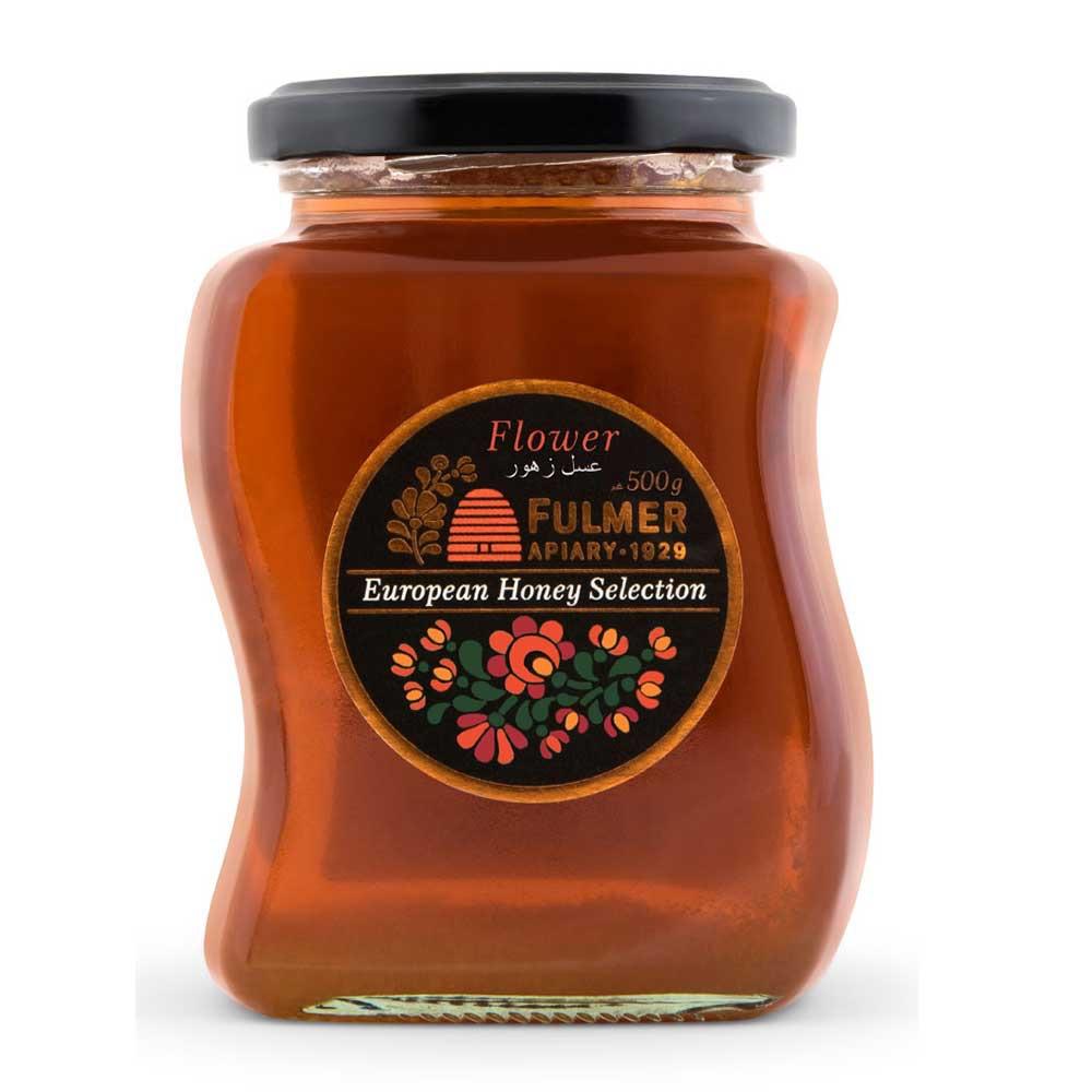 Fulmer Flower Honey Original Natural European Pure Honey 500g