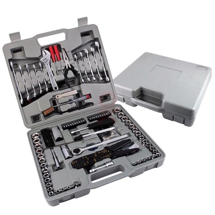 Shopcraft 142 Pcs Automotive Mechanics Tool Set