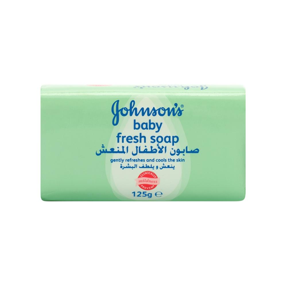 JOHNSON'S Baby, Baby Soap, Fresh, 125g