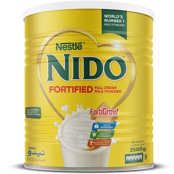 Nestle Nido Milk Pwdr2.5Kg