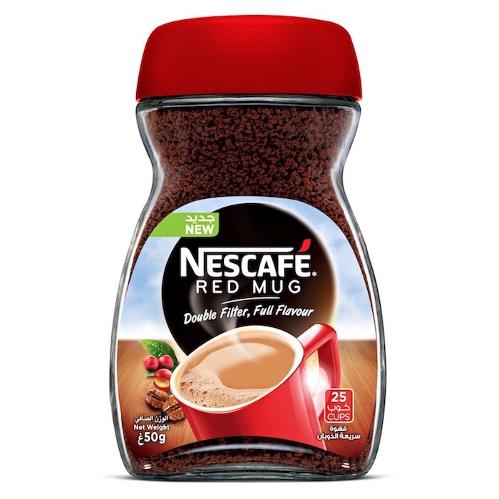 Nescafe Red Mug Instant Coffee 50g Jar
