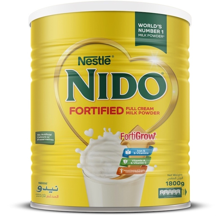 Nido Full Cream Milk Powder Tin - 1800g