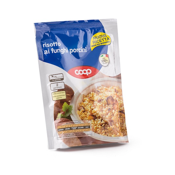 Coop Risotto With Mushrooms 175g