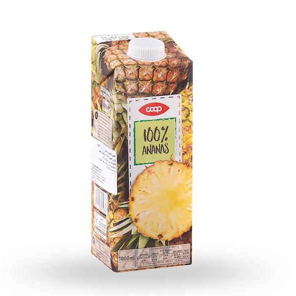 Coop 100 Pineapple Juice 1L