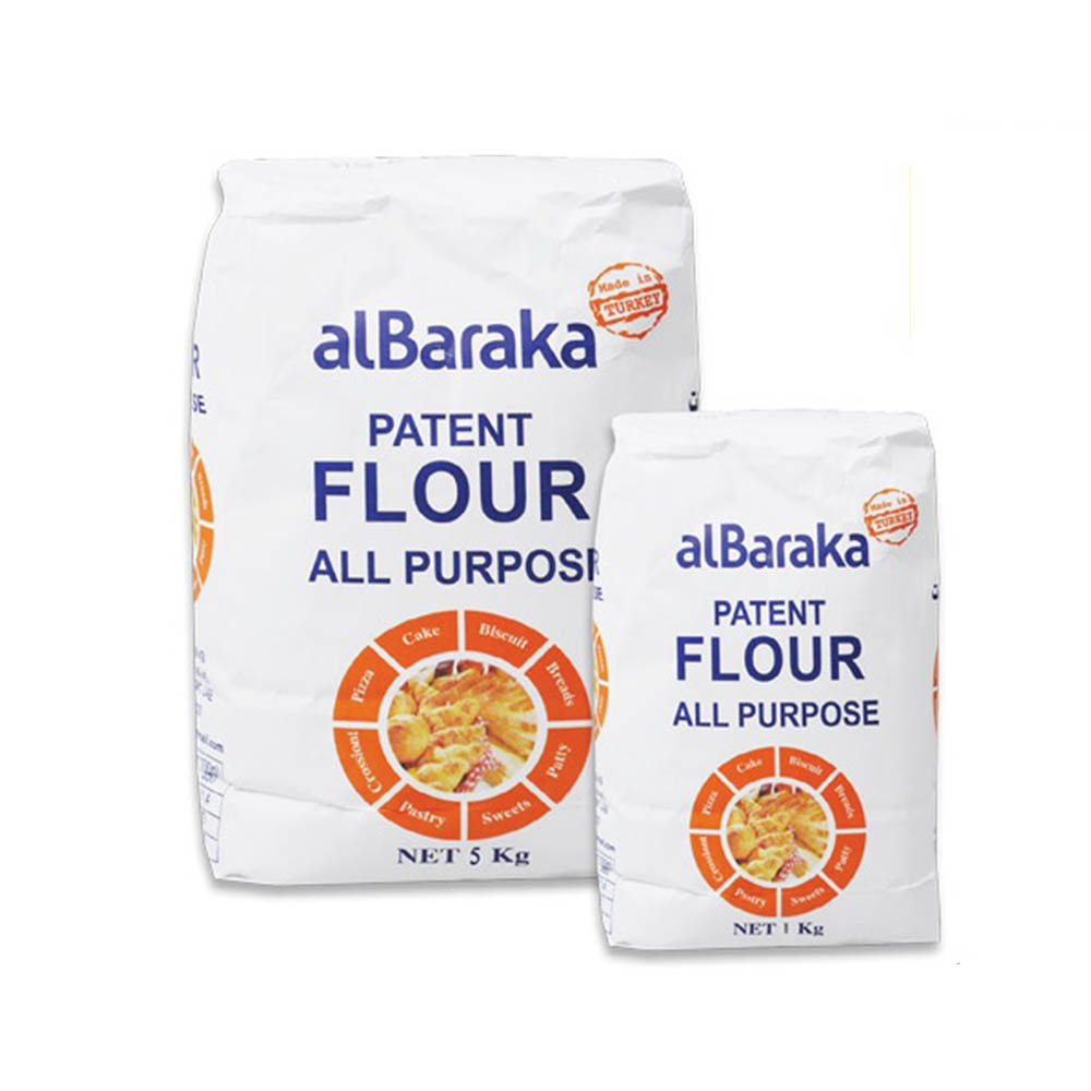 Al Baraka All Purpose Patent Flour-5Kg+1
