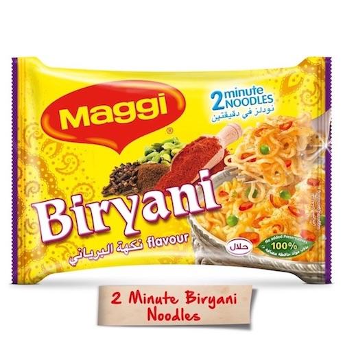 Maggi 2 Minutes Noodles Biryani, 5 Pcs