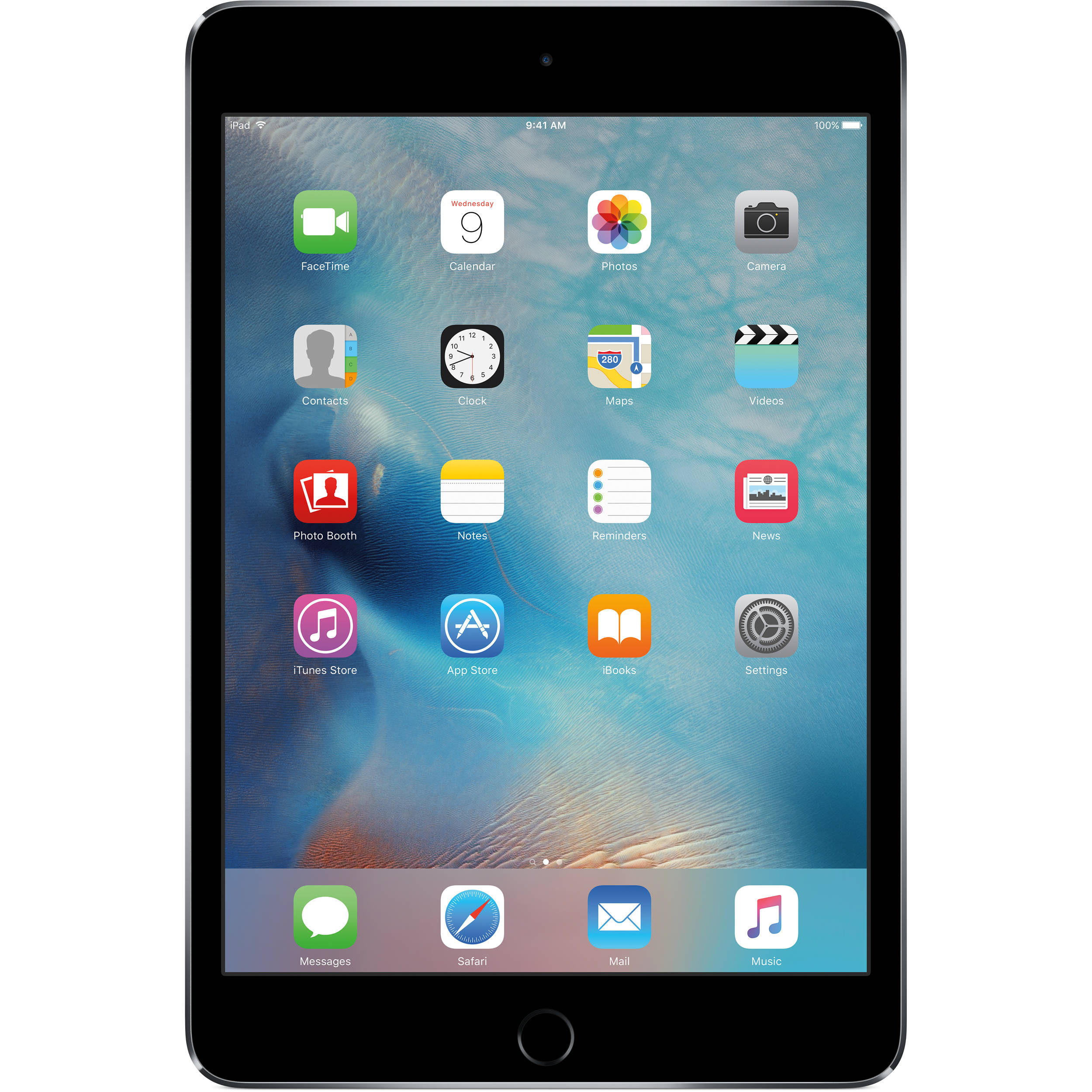 Apple Ipad Mini 4 128GB WiFi Space Gray, MK9N2AE/A