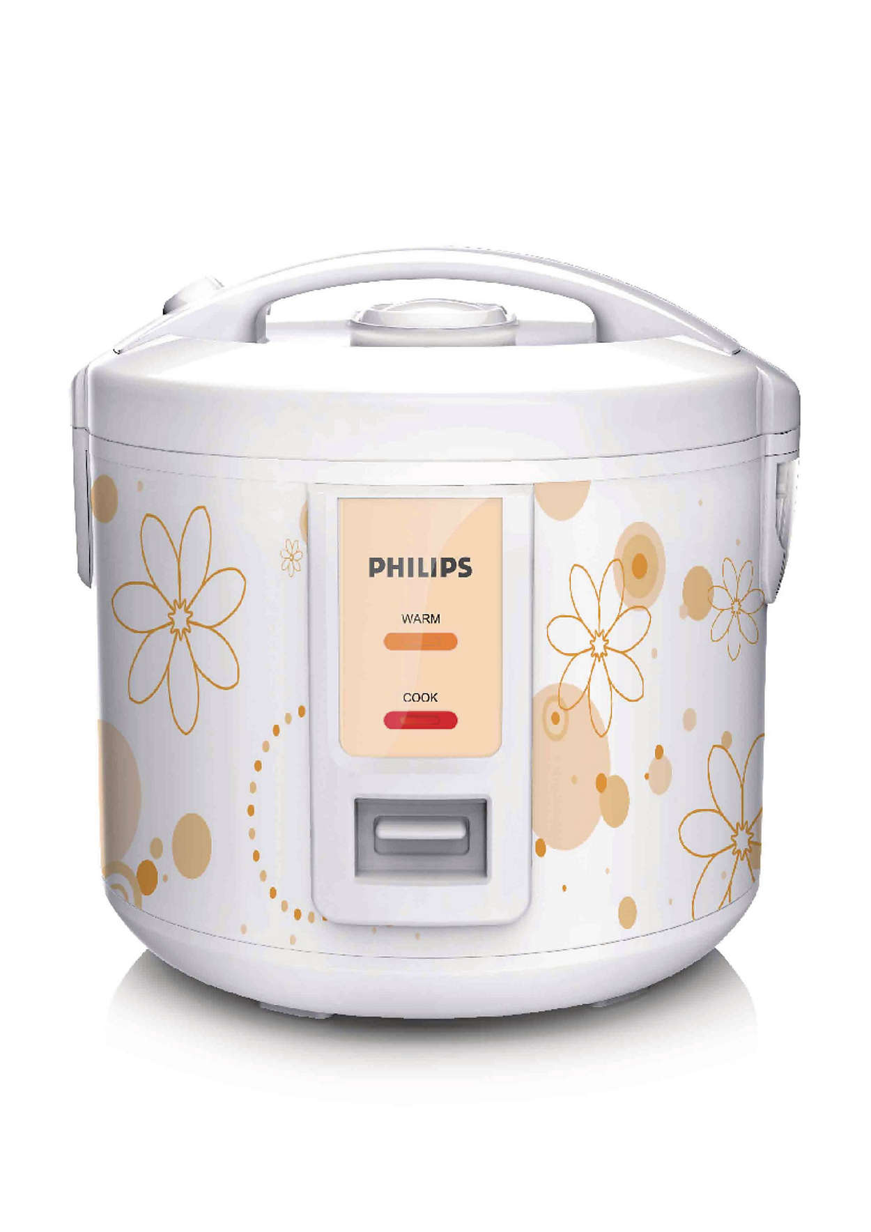 Philips Daily Collection Rice Cooker 1.8 Liter HD3017