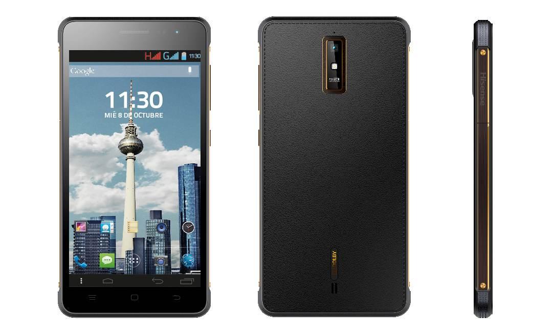 Hisense King Kong HSG610 4G LTE Smartphone 16GB Black