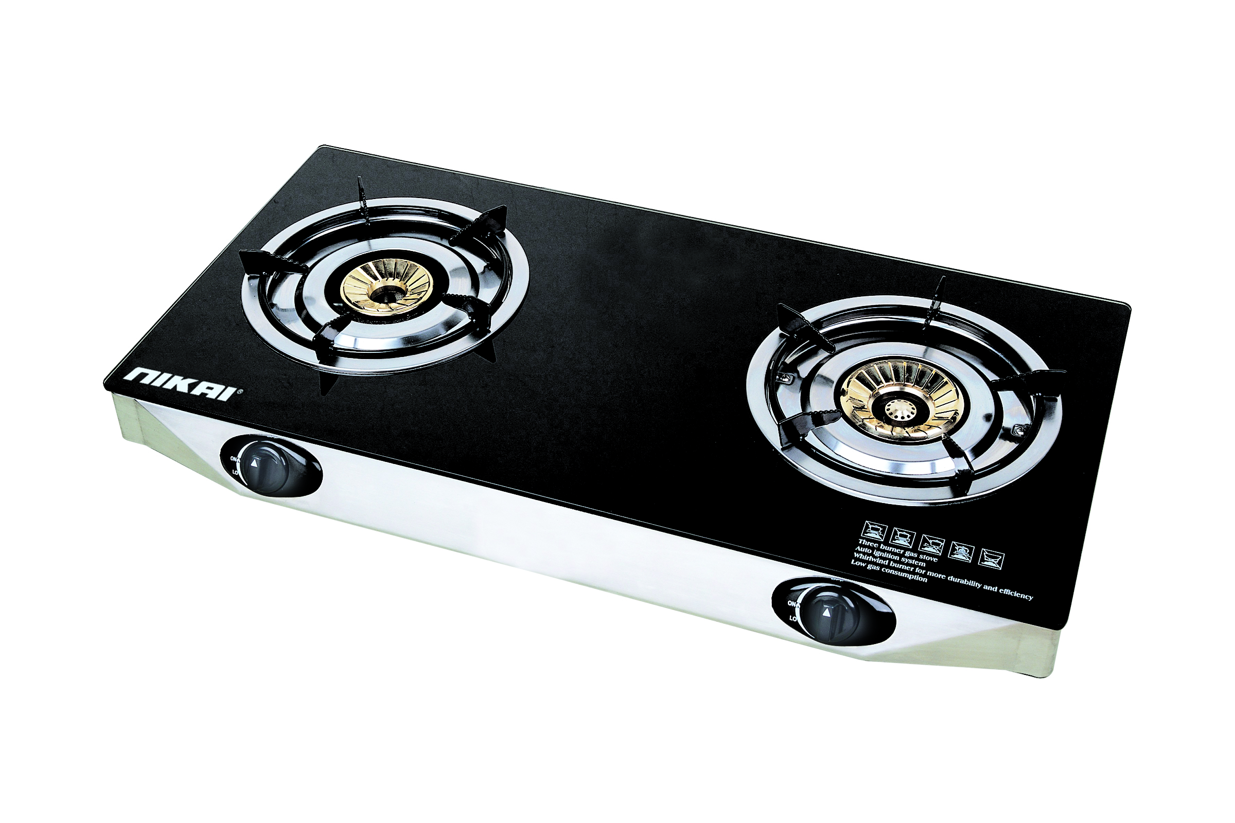 Nikai Double Gas Burner - 	NG7092G