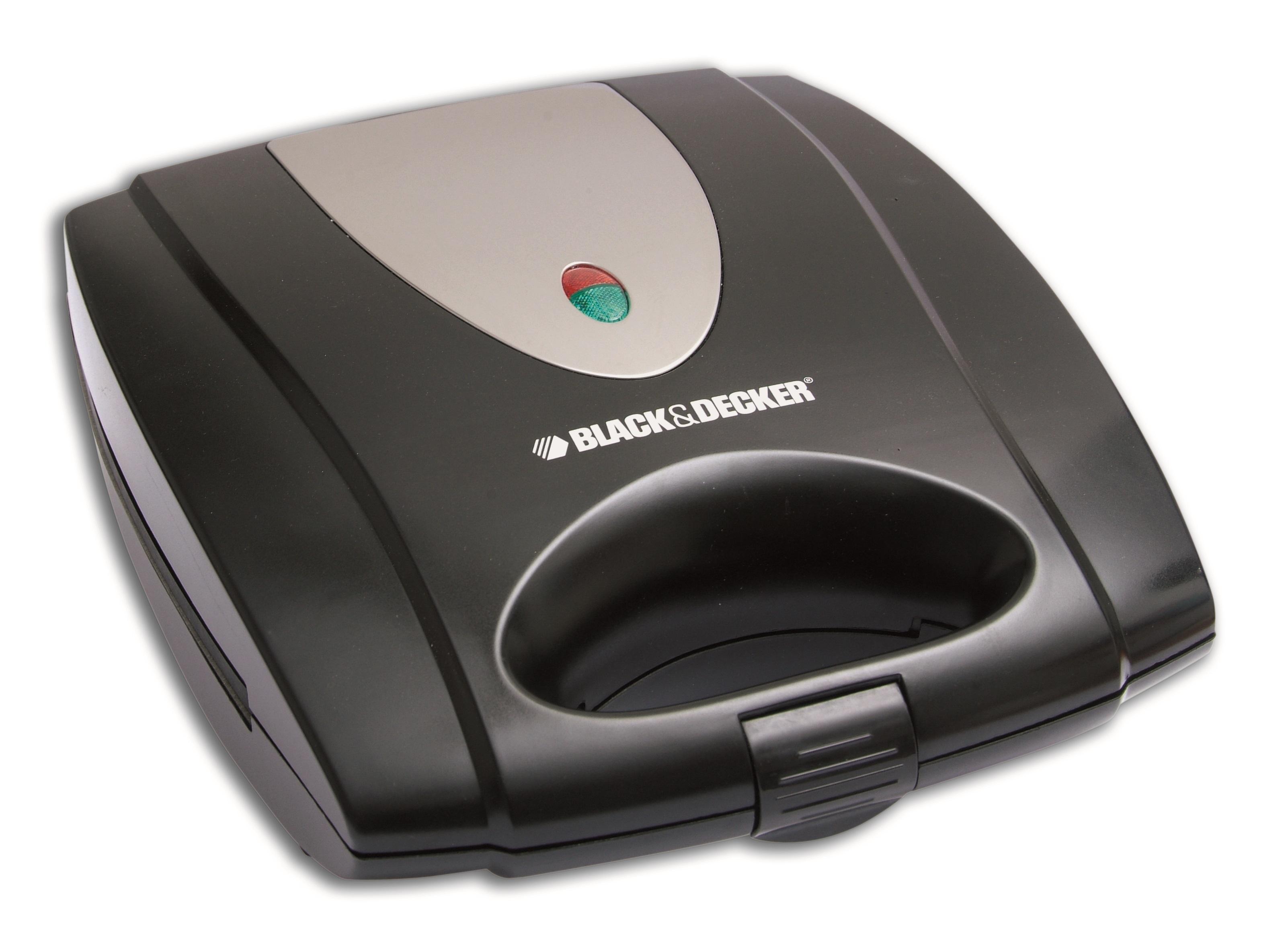Black & Decker 4 Slot Sandwich Maker - Black, TS4080-B5