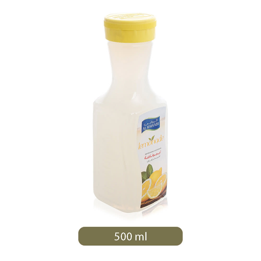 Al Rawabi Lemonade Juice Drink - 500 ml