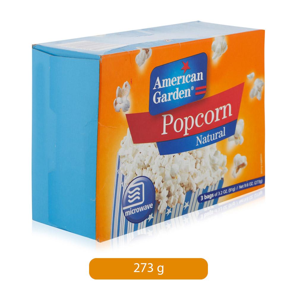 American Garden Popcorn Natural, 273 gm