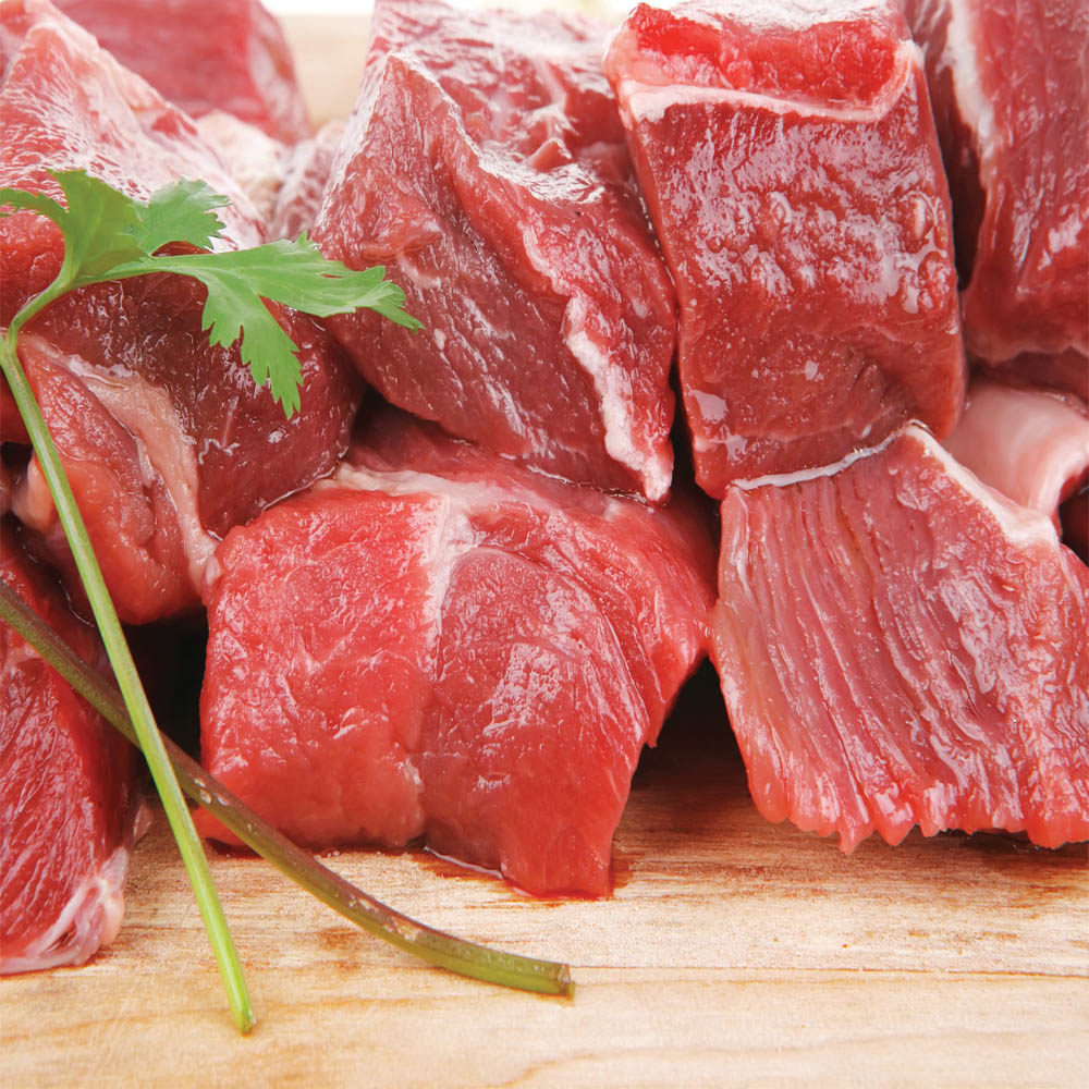 Australian Beef Cubes Low Fat Per Kg
