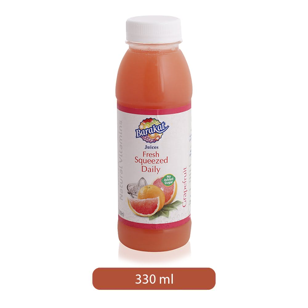 Barakat Fresh Squeezed Daily Grapefruit Drink - 330 ml