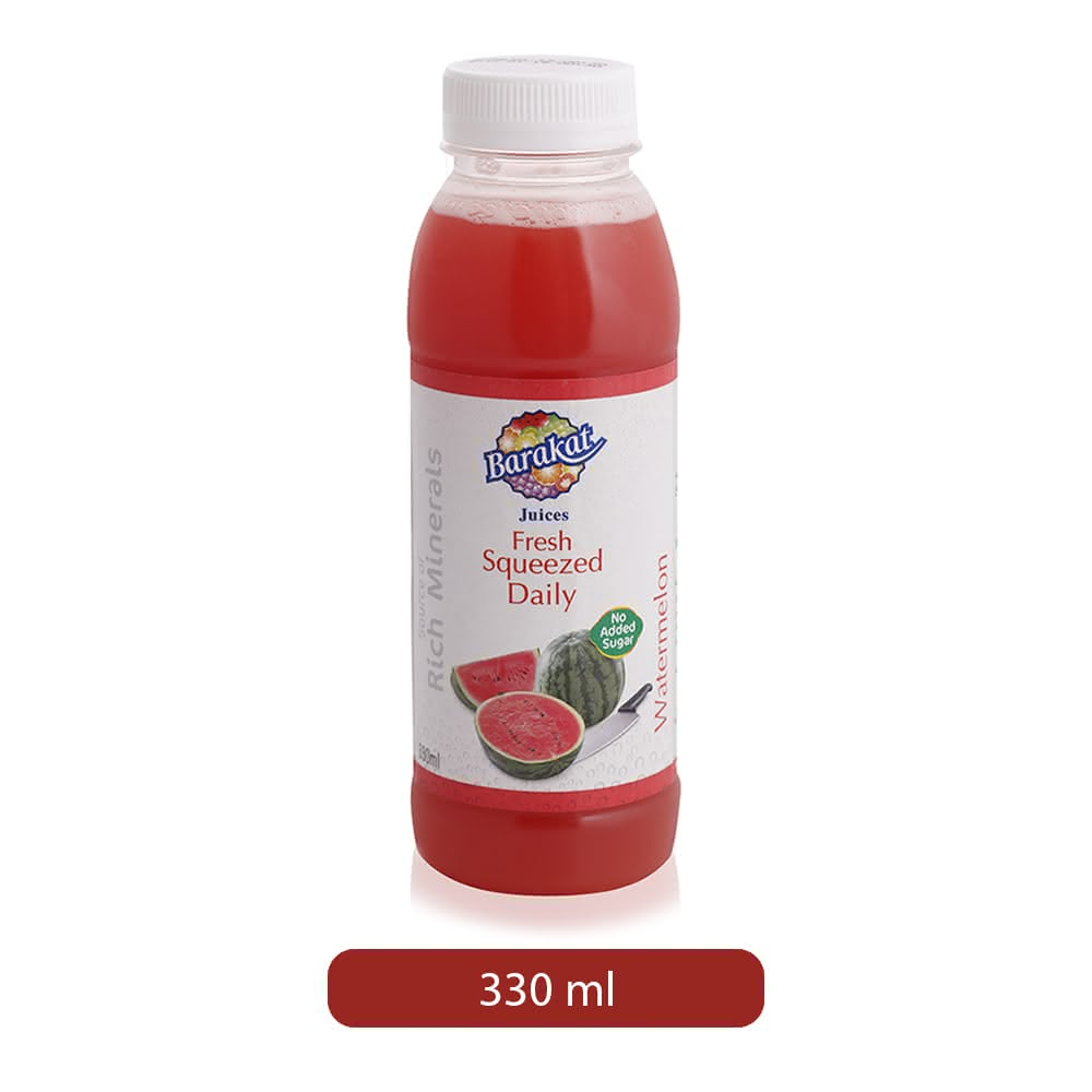 Barakat Fresh Squeezed Daily Watermelon Drink - 330 ml