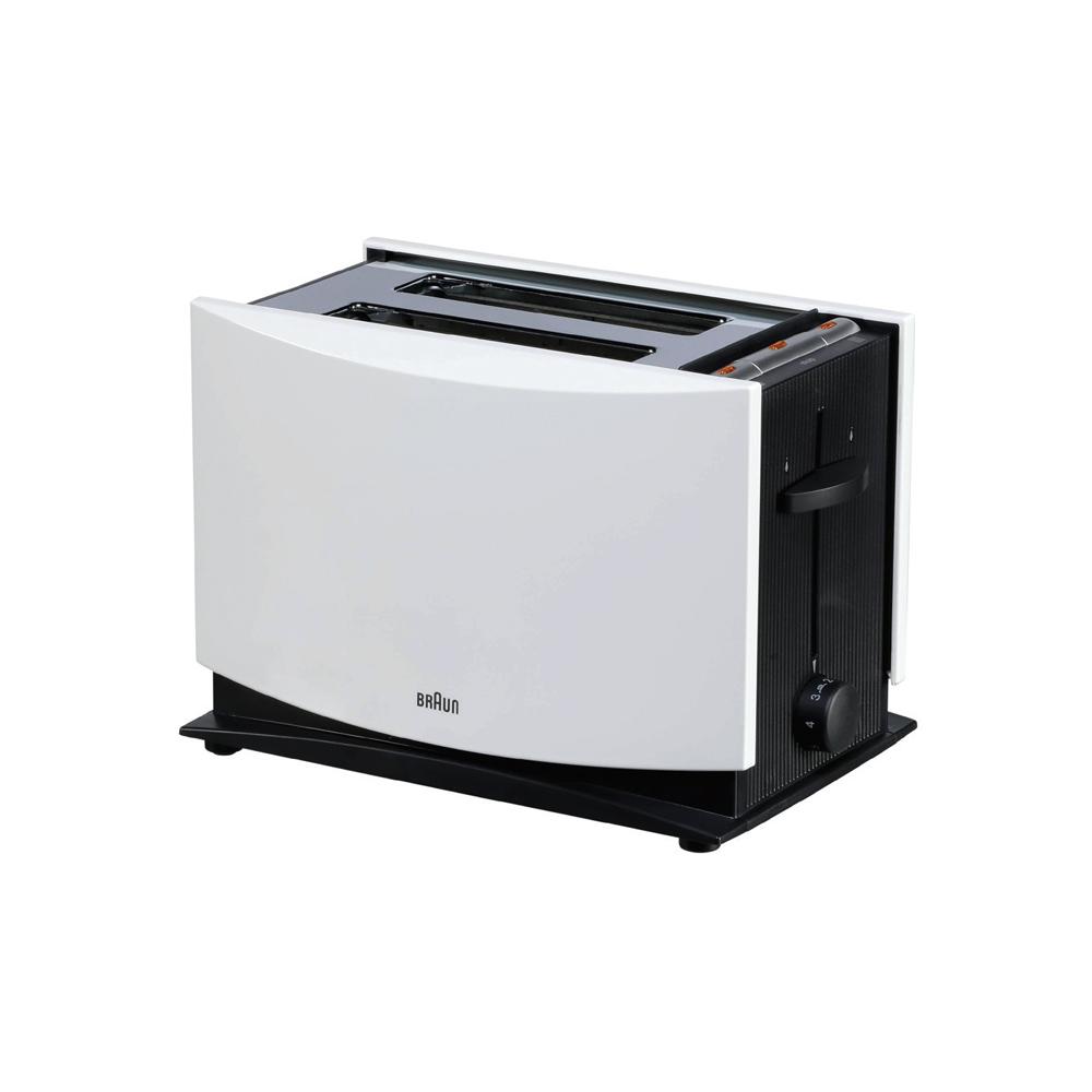 Braun M-Toast White 1000w 2 Slices, HT450